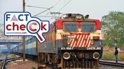 <p>Indian Railway Factcheck</p>