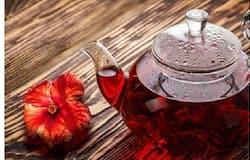 <p>hibiscus tea</p>