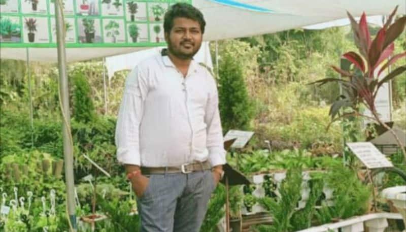 Leaving his job, Akashdeep started nursery. Today, he earns lakhs as profits