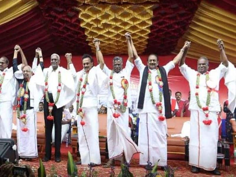 The partner who showed strength .... DMK is waiting to give a twist to the communists