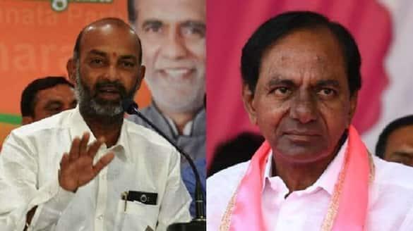 bandi sanjay sensational comments on cm kcr over covid ksp