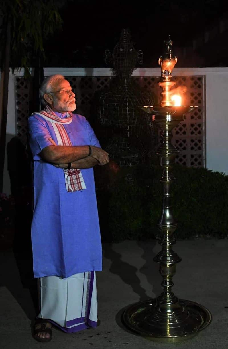 PM Modi lighting a lamp in the month of April and exhorting others to do the same and posting a picture on twitter has become the most retweeted political tweet of this year.
