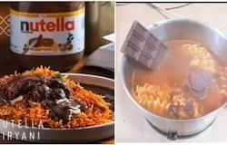 <p>Nutella Biriyani</p>