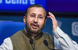 <p>Farmer protests, Union Minister Prakash Javadekar<br /> &nbsp;</p>