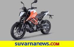 <p>2021 KTM 125 Duke</p>