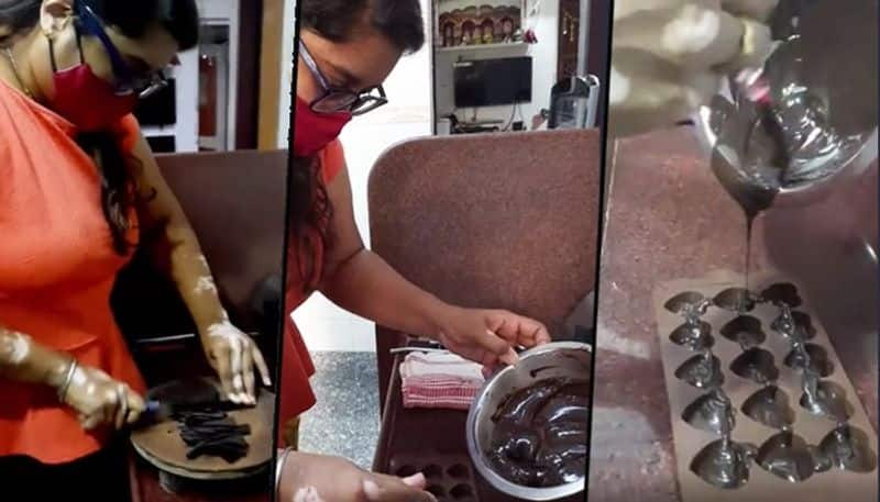 Symbol of determination: 26-yr-old takes on society over leucoderma, establishes herself in chocolate business