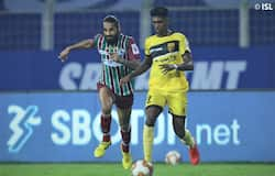 <p>Hyderabad FC came up with a phenomenal performance, thanks to Liston Colaco's late brace. It tamed NorthEast United FC in the Indian Super League (ISL) 2020-21, at the Tilak Maidan in Goa, on Friday. Hyderabad has now risen to the third place, while NEU stays at the seventh spot.</p>