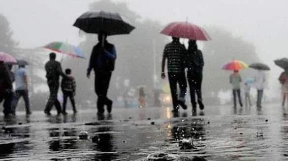 Parts of Telangana get respite from heat light showers and thunderstorms predicted ksp