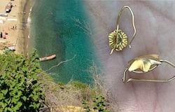 <p>Mysterious gold, jewelry washes up on Venezuelan beach for months</p>