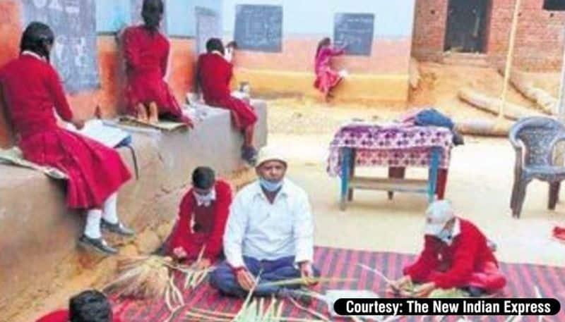 Atmanirbhar Bharat: Jharkhand school teacher inspires students to produce chalks, mats & brooms