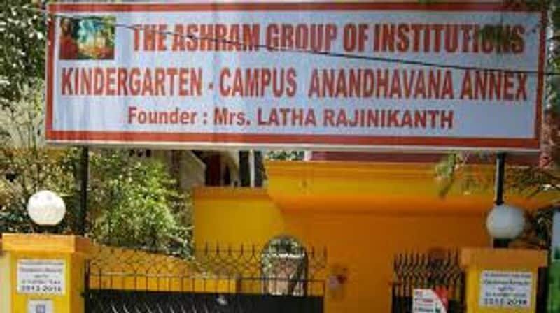 Ashram school not paid for one and a half years ... Demonstration condemning Lata Rajinikanth