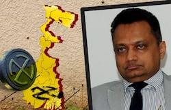 Image of Fire  Deputy Election Commissioner Sudeep Jain