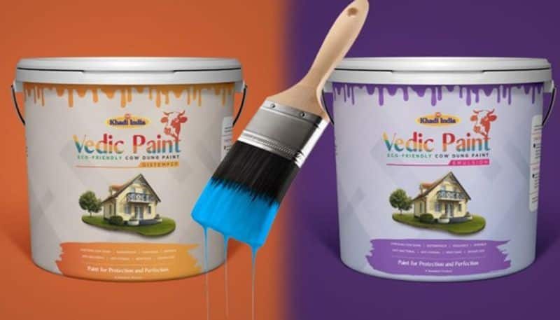 A report in in Himachal Abhi Abhi said that the paint will look like the regular paint, and it will cost as low as half of the standard colour while regular paint costs around. Rs.225lt, cow dung paint will be available at around Rs.110lt.