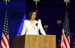 """<p><strong>Kamala Harris</strong></p>  <p><br /> WorldRemit says: """"Kamala Harris became vice-president elect following the 2020 US Presidential election. In 2017, she was sworn in as a United States Senator for California, becoming the second African-American woman and first South-Asian American senator in history. Though she was born in Oakland, California, Harris' parents emigrated to the United States from India and Jamaica.""""</p>"""