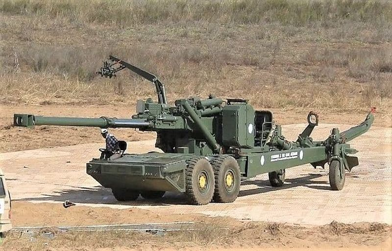 """The system is configured with an all-electric drive that will ensure maintenance free and reliable operation over longer periods of time.ATAGS Project Director Shailendra Gade told ANI, """"The Indian Army's requirement is for 1580 towed artillery guns and apart from that, they need 150 ATAGS and another 114 Dhanush guns.""""""""So, there is a requirement of a total of 1,800 guns. The way the ATAGS is performing and come up, I am sure that this entire requirement of 1,800 guns can be met by this gun only."""""""