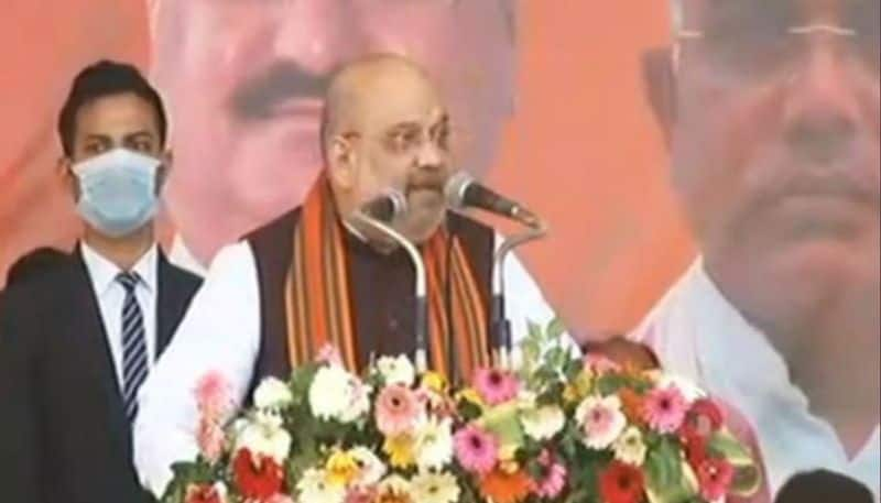 Amit Shah visit iskon temple and doing rally in Thakurbari ahead of West Bengal Assembly Elections 2021 ASB