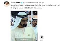 <p>Sheikh Mohammed Tik tok</p>