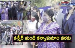 Telangana governor Tamilisai Soundararajan inaugurated the Flag off of Infinity Ride- 2020