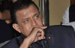 """<p style=""""text-align: justify;"""">The actor clarified there is no political aspect to the meeting. When asked on his political prospects, the actor joked off speculations that he could be the chief ministerial face for the BJP in West Bengal.<br /> &nbsp;</p>"""