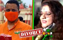 <p>After joined TMC, BJP MP Soumitra Khan Send divorce notice his wife Sujata</p>