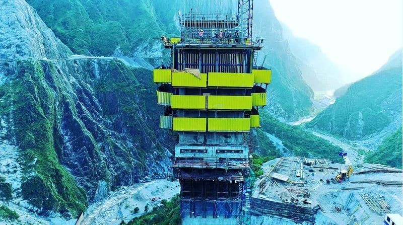 The Anji Khad Bridge, an engineering marvel, is India's cable-stayed bridge. It will connect Katra and Reasi in Jammu and Kashmir.
