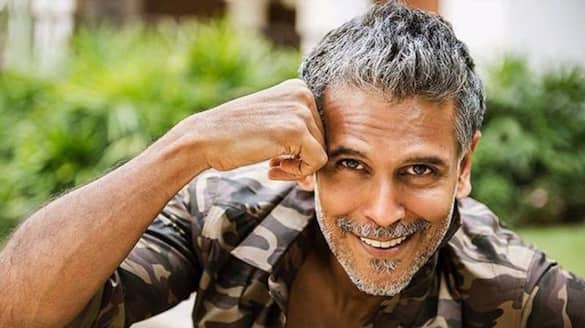 Milind Soman's workout prop is a watermelon? Here's what the actor shared about avoiding stress ANK