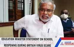 Education Minister statement on school reopening during Britain virus scare