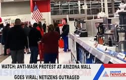 Watch: Anti-mask protest at Arizona mall goes viral; netizens outraged