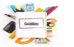 <p>guidelines</p>
