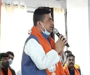 Suvendu Adhikari slams Mamata Banerjee on Coronavirus Vaccine from Purulia public meeting ASB