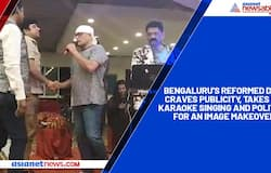 Bengaluru's reformed don craves publicity, takes up karaoke singing and politics for an image makeover