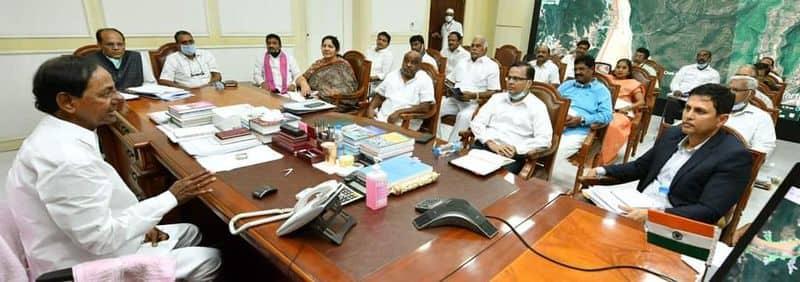 Telangana cabinet begins at Pragathi Bhavan lns