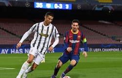 <p>Cristiano Ronaldo and Lionel Messi</p>