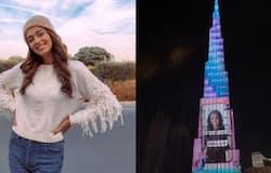 <p><br /> malayali model jumana khans image on burj khalifa</p>