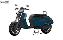 <p>Blacksmith B4 electric scooter</p>