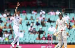 <p>Resuming at the overnight score of 103/2, Labuschagne and Smith's pair added 35 more, before the former fell for 73 to pacer Navdeep Saini, after edging it behind to stand-in wicketkeeper, Wriddhiman Saha. Just ten runs later, Saini provided the second breakthrough of the day, as wicketkeeper-batsman, Matthew Wade similarly fell for mere four.</p>