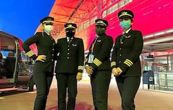"""<p>Commanding the flight were captains Zoya Aggarwal, Papagari Thanmai, Akansha Sonaware and Shivani Manhas. They are joined by the airline's executive director of flight safety, captain Nivedita Bhasin.</p>  <p>Upon arrival in Bengaluru, Captain Zoya Aggarwal, who has over 8,000 flying hours under her belt, said: """"Today, we created world history by not only flying over the North Pole but also by having all women pilots who successfully did it. We are extremely happy and proud to be part of it. This route has saved 10 tonnes of fuel.""""</p>"""