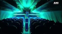 <p>disinfect aircraft</p>
