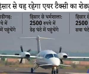 The country's first air taxi service started, can also be booked privately asa