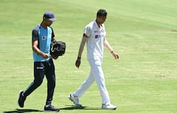<p>Meanwhile, Saini suffered an injury scare, right after Labuschagne was dropped, as he seemed to have hurt his groin and left the field for a brief time. Nonetheless, he was back quick but did not bowl, he was taken off the field again to undergo scans.</p>