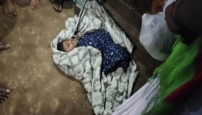 11 months baby girl abandoned by her parents in krishna district- bsb