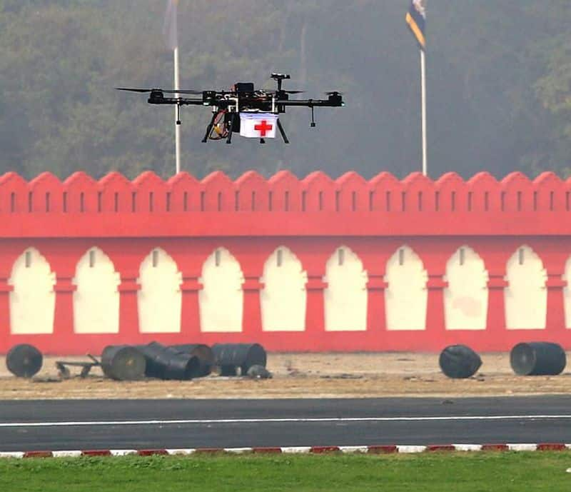"""<p>""""With the private sector, MSMEs and academia, the Indian Army is playing an important role in Atmanirbhar Bharat, which will help in promoting Swadeshi technologies and reduce dependence on imports.""""<br /> &nbsp;</p>  <p>The army is working on Artificial Intelligence-based Offensive Drone Operations which has been incubated with an Indian Start-Up.</p>"""
