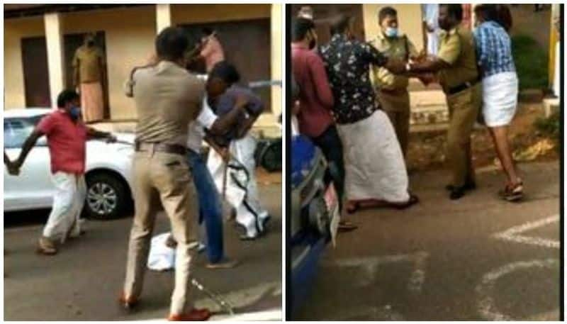 attack against Youth Congress workers who shown black flag on Ganesh Kumar mla