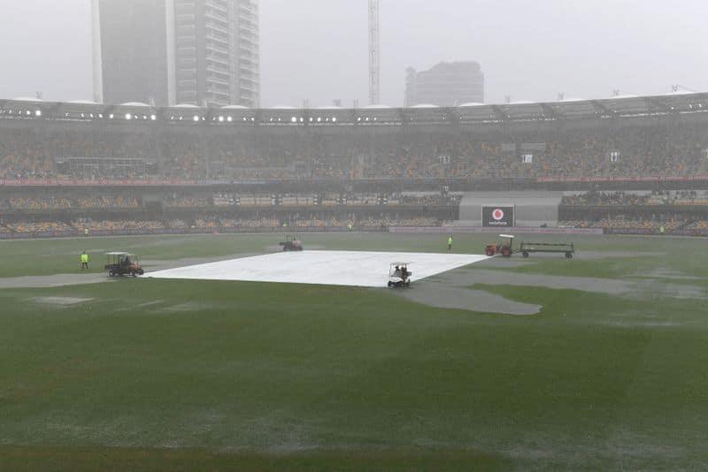 Gabba Test: Play stopped due to Rain, Australia leads 276 Runs ahead CRA