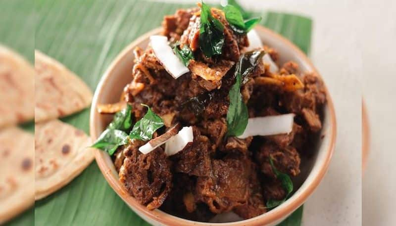 Weekend Special Recipe of South Indian style Mutton Pepper Roast BDD