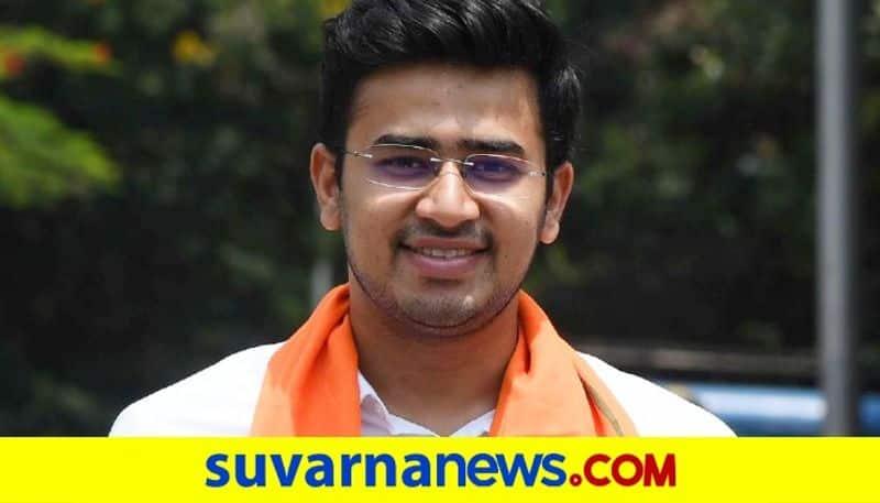 Khareemsab Moghalalli Slam BJP MP Tejasvi Surya grg