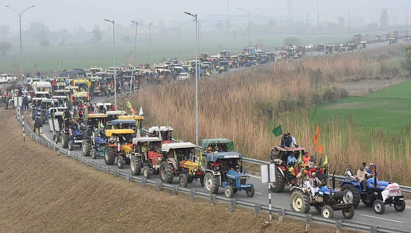40 lakh tractors will go parliament if government are not taken back farm laws says rakesh tikait bsm