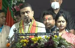 <p>The BJP workers claimed that the slogan was made against some of the people who are part of the ruling Trinamool Congress.</p>