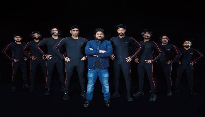 prabhas announce adipurush motion capture work started  arj