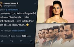"<p style=""text-align: justify;"">Since she has made the post, the netizens have slammed her saying she has used insensitive words for ""spreading hate"". Some Twitter users even asked the Mumbai Police to take the matter in hand.&nbsp;</p>"